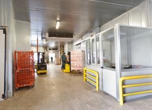Magazzini frigoriferi °c altea surgelati logistica e